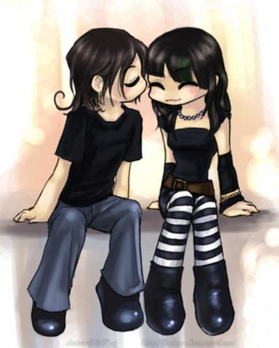 imagenes de amor anime. amor anime.