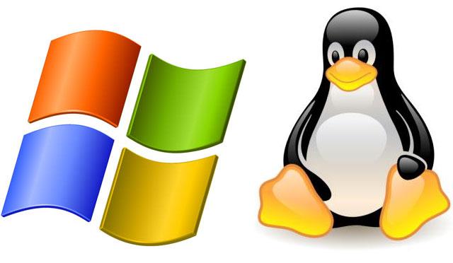 Windows y Linux Logo